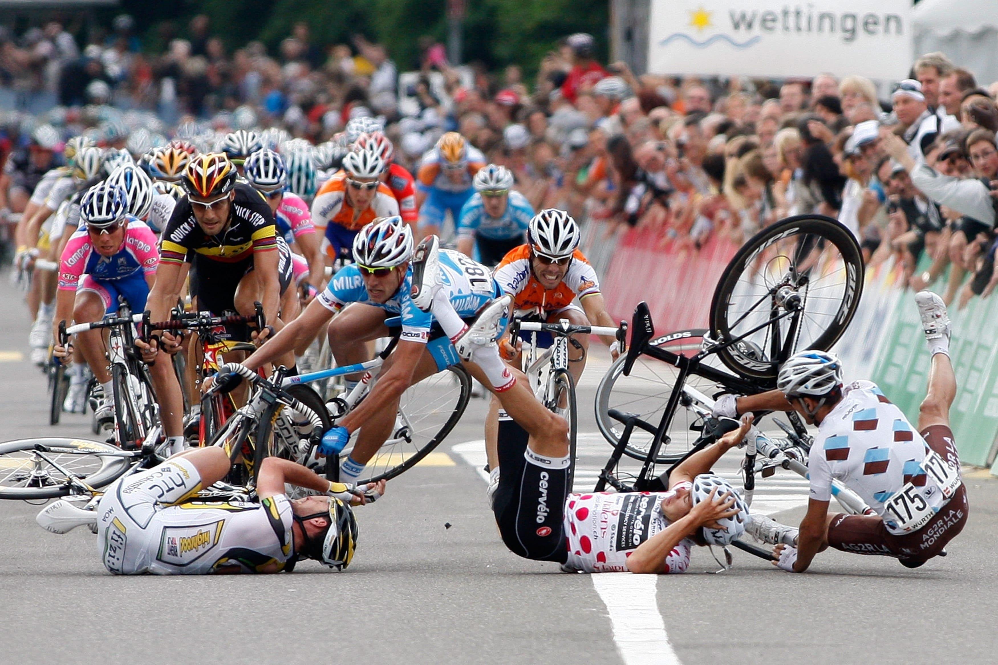 Principales lesiones en el ciclismo